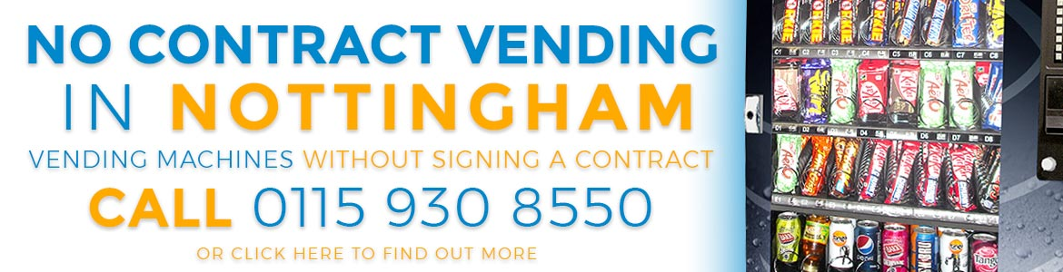 No Contract Vending Nottingham