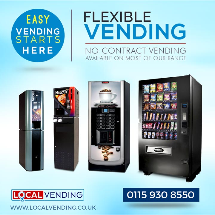 Flexible no-contract vending