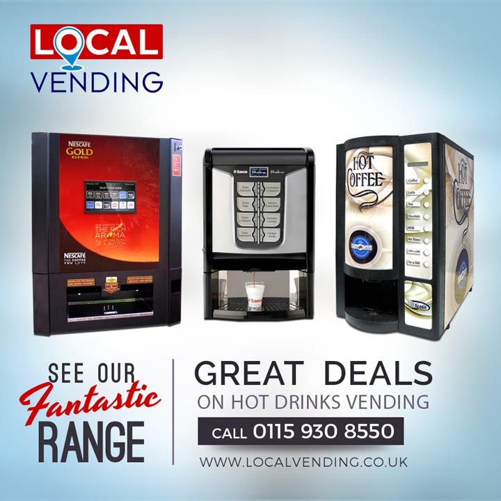 Great deals on hot drinks vending