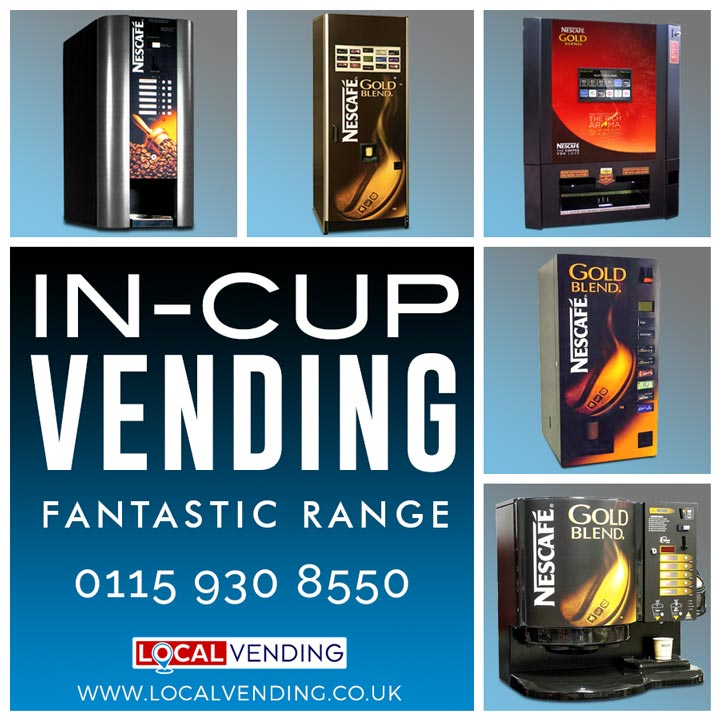 In-cup vending machines