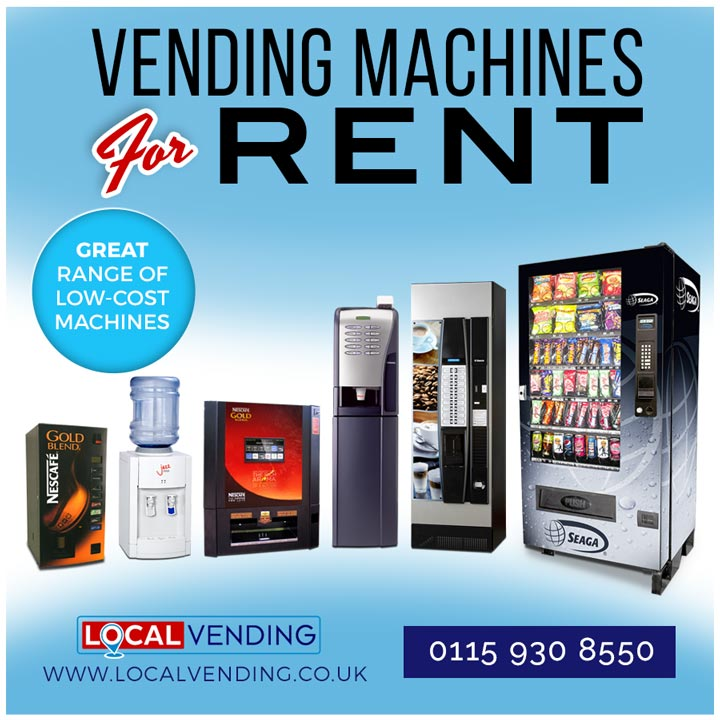 Vending machines for rent