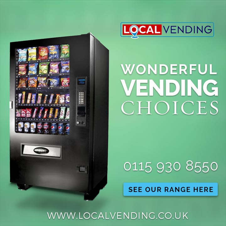 Wonderful vending machines choise